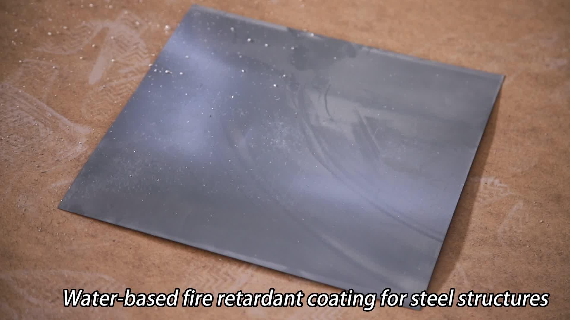 Feuer Beweis Aufgeblasen Feuer Bewertet Beständig Stahl Beschichtung Farbe