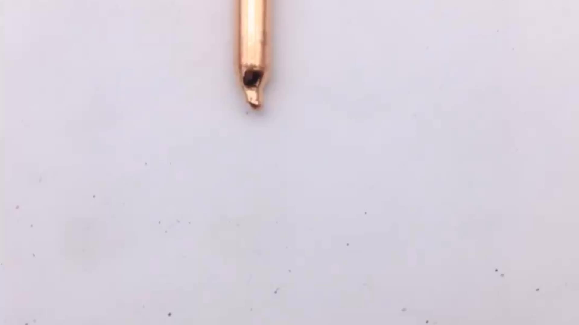 China factory supplies 3/4/5/6/7/8/9/10 mm sintered copper heat pipe