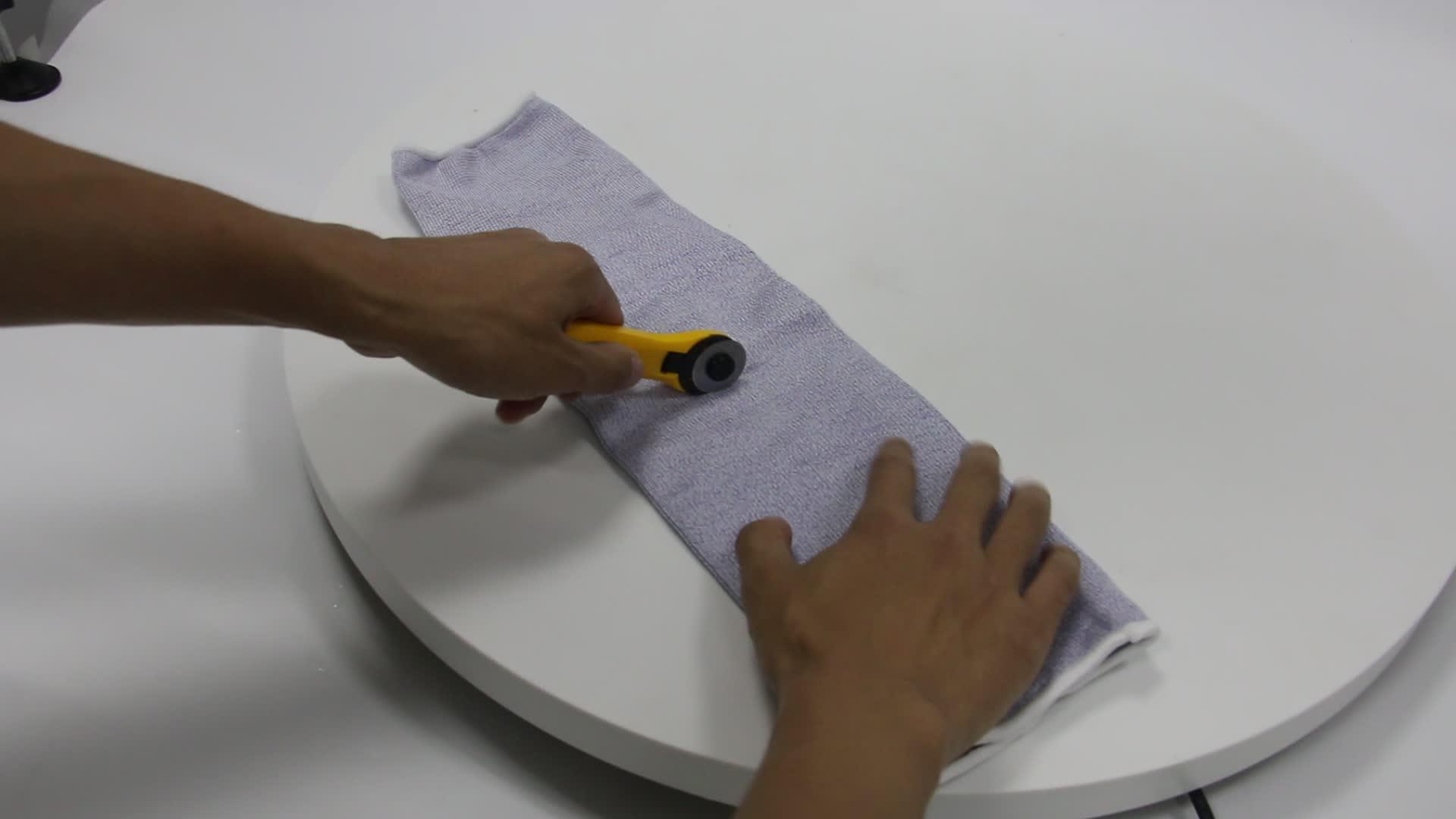 HPPE Haute Technologie Slash Anti-abrasion De Protection Résistant Aux Coupures Bras Manches trou de pouce