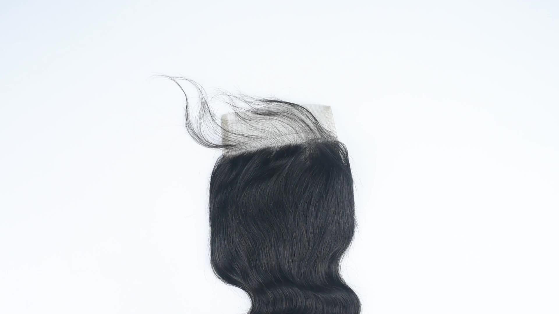 wholesales malaysian / peruvian hair, brazilian human hair, peruvian hair bundles lace closure