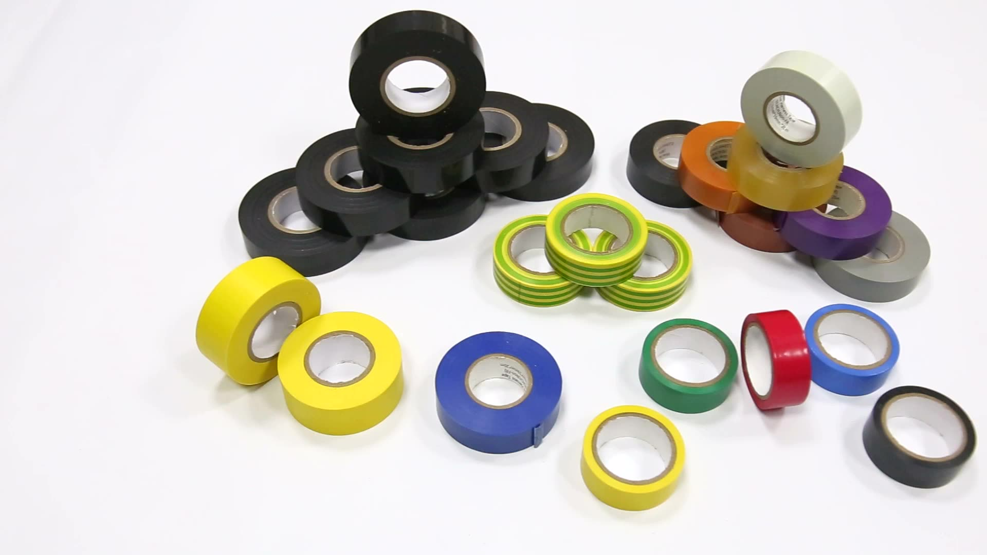 Multiple Colors Free Samples Flame Retardant Electrical Insulation PVC Adhesive Insulating Tape