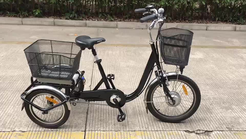 China Adult Cheap Long Range 3 Wheel Delivery Electric Tricycle New Adults Three Wheel Cargo Electric Tricycle For Elder