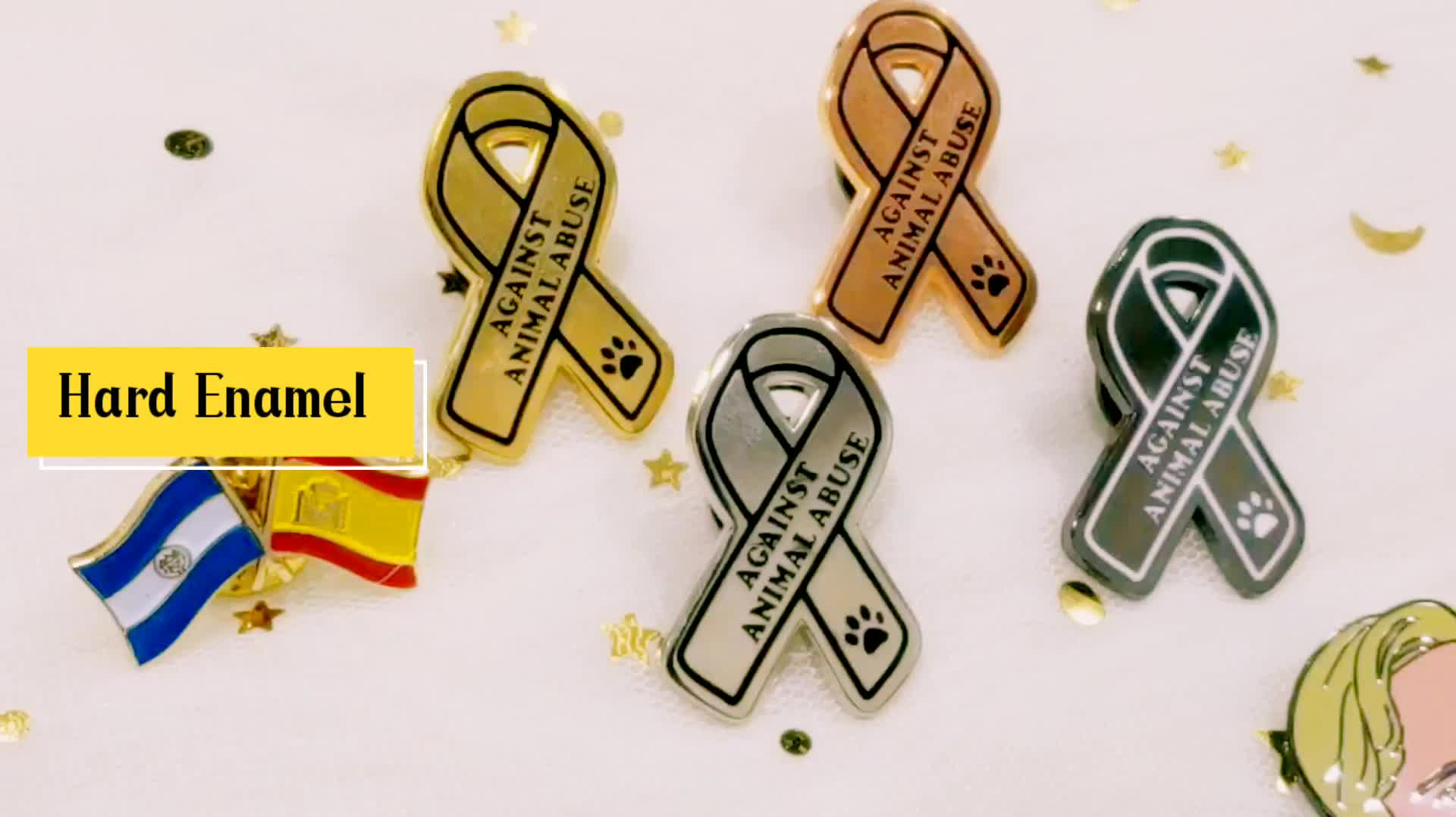 Wholesale New Design High Quality Custom Hard Enamel Pin Badge