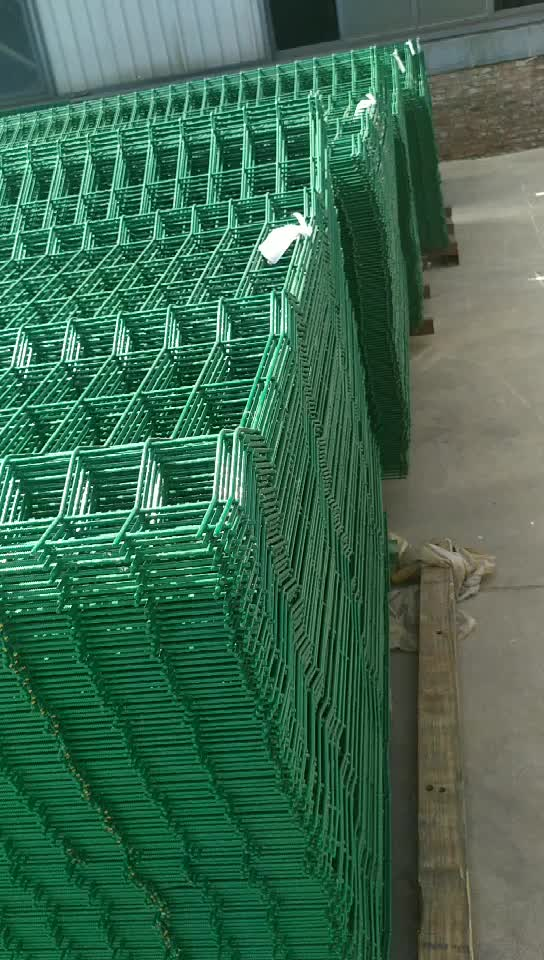 pvc coated anti-cut wall wire mesh fence 358 anti climb security fence price