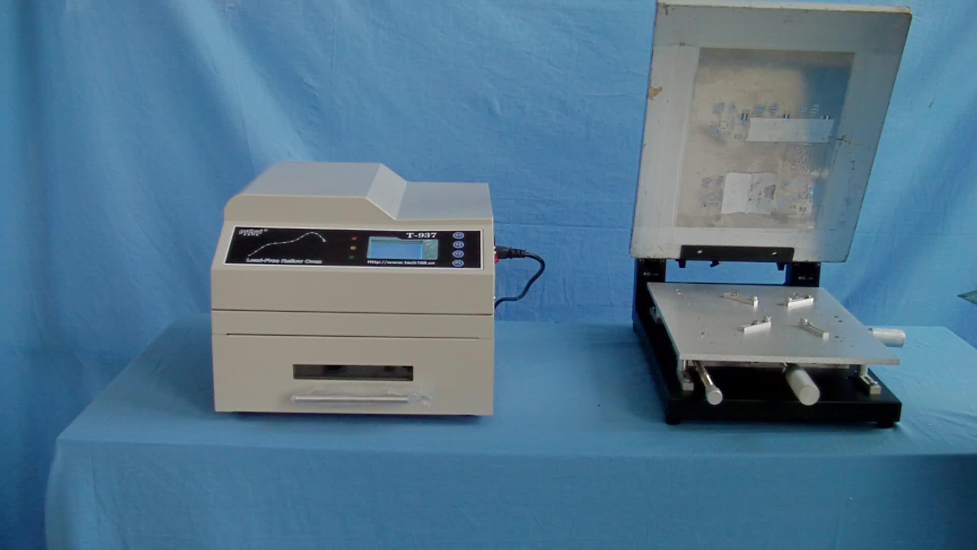อัตโนมัติ stencil เครื่องพิมพ์ High Precision คู่มือ SOLDER PASTE เครื่องพิมพ์,เตาอบ reflow,SMT เครื่อง Pick and Place