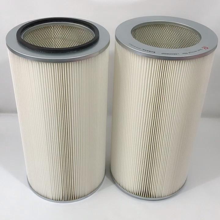 高品質 99.99% ガス空気集塵機エアフィルターカートリッジ高ダスト保持容量