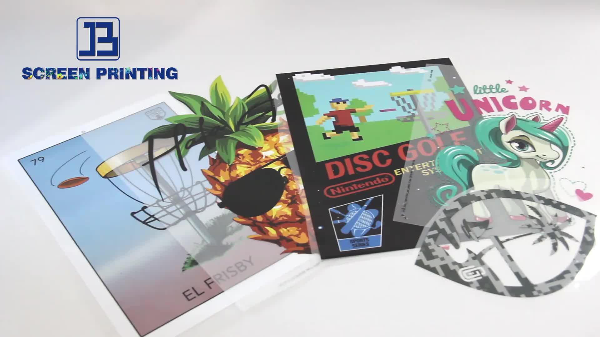 New plastisol transfer printing sticker custom heat transfers for t-shirts