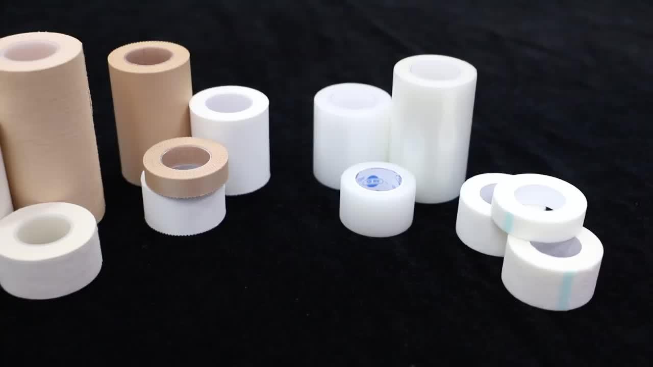 Professionele Fabrikant Soorten Katoen Zinkoxide Gips Tape voor Chirurgische Medische Ehbo met FDA CE ISO13485