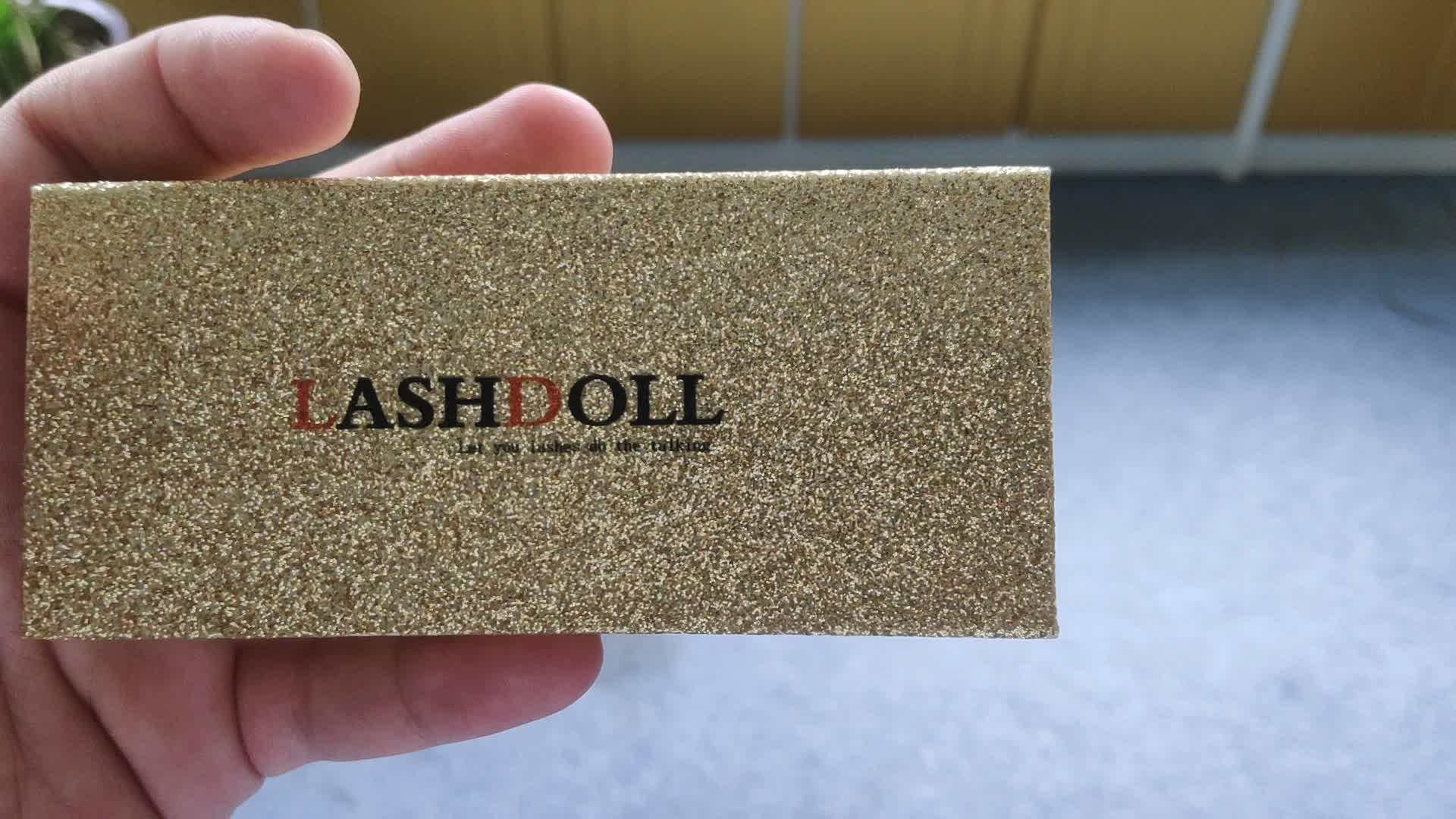 High quality fast delivery spot eyelash box magnetic box
