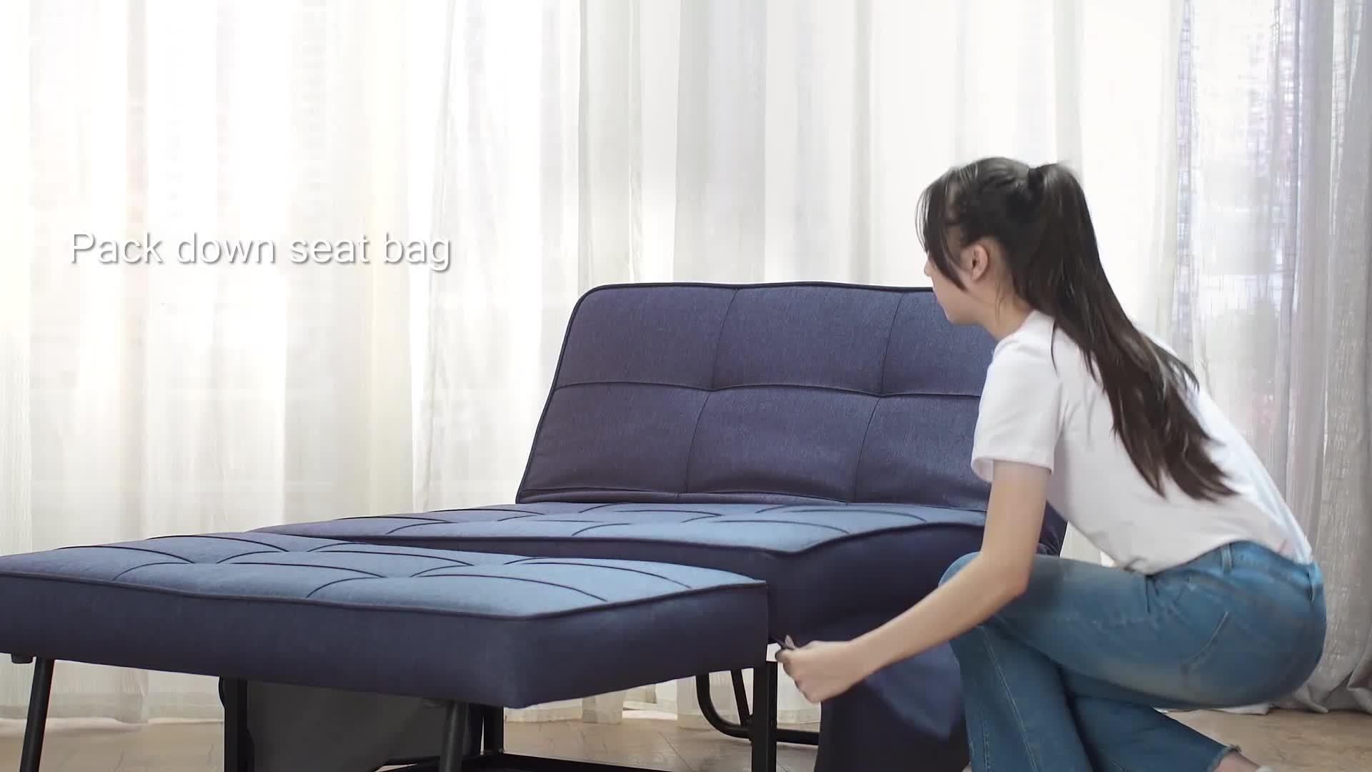 - Cheap Mini Small Portable Lazy Foldable Folding Single Sofa Bed