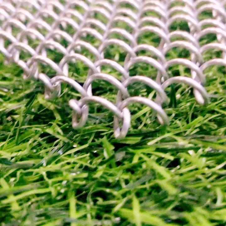 Dekorativen architektonischen kettenglied vorhang mesh, metall perlen hängende kette vorhang, architektonische netz glänzenden