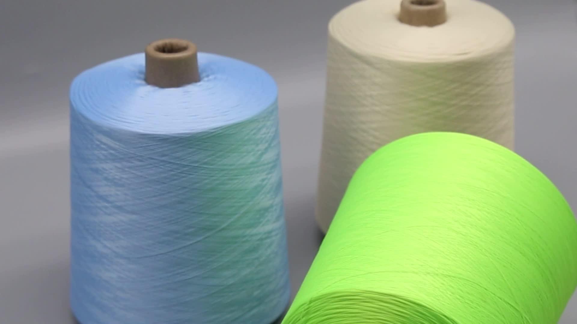 Китай поставщик DTY пряжа окрашенная для вязания Хэнк Окрашенная полиэфирная пряжа