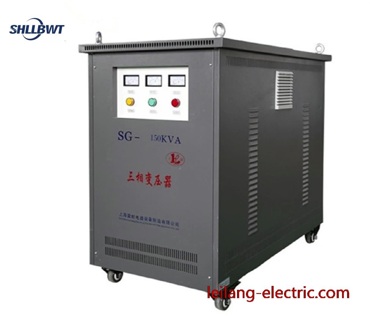 Three phase isolation transformer 100KVA 415V/400V/380V/240V/230V/220V for printing machine