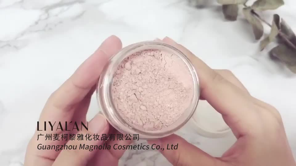 Magnolia Private Label Organic Bentonite Rose Pink Skin Whitening Facial Mask Powder