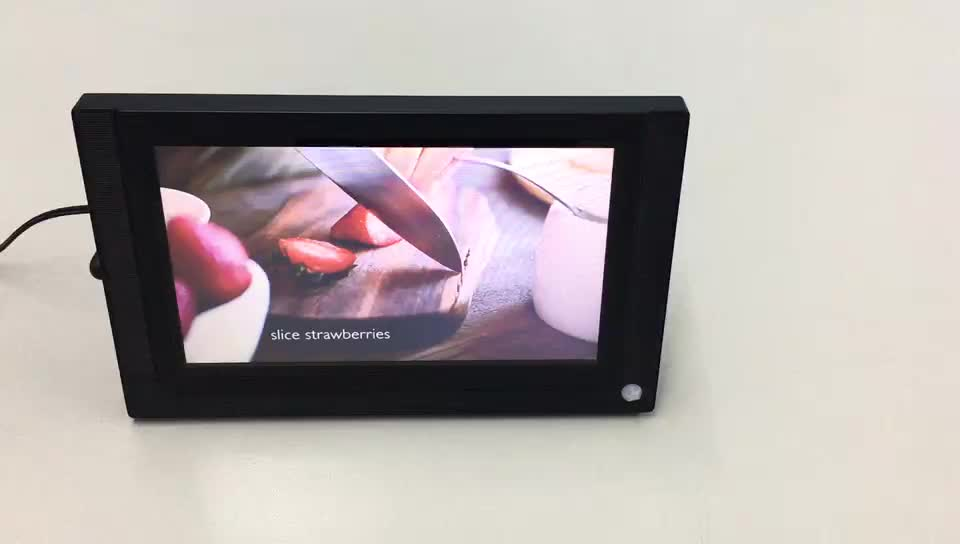 """Indoor 7"""" 9"""" 10"""" 15"""" 19"""" inch lcd advertising player/media/monitor/screen with motion sensor"""