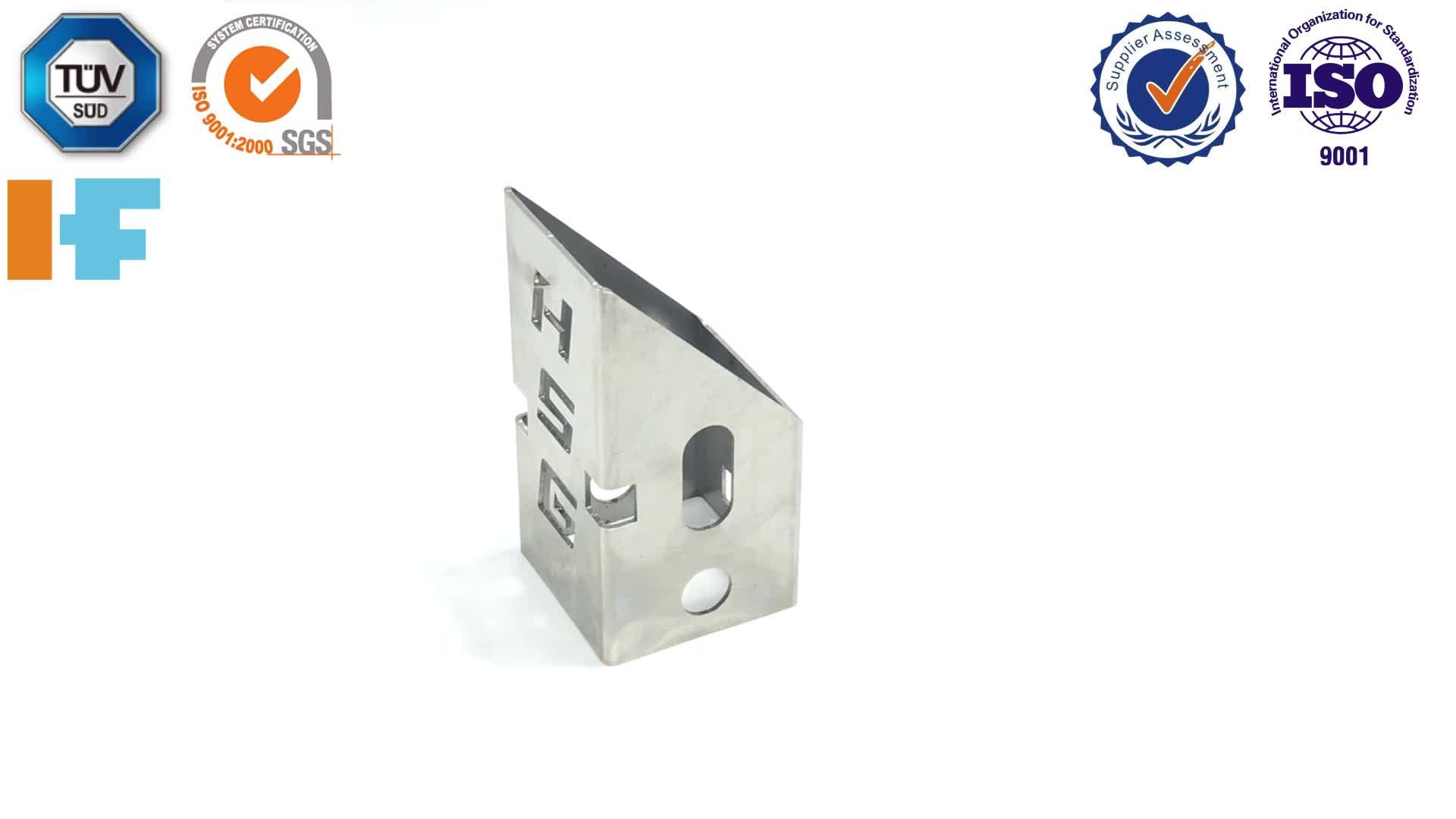 Foglio di metallo di fabbricazione di taglio laser tubo di servizio
