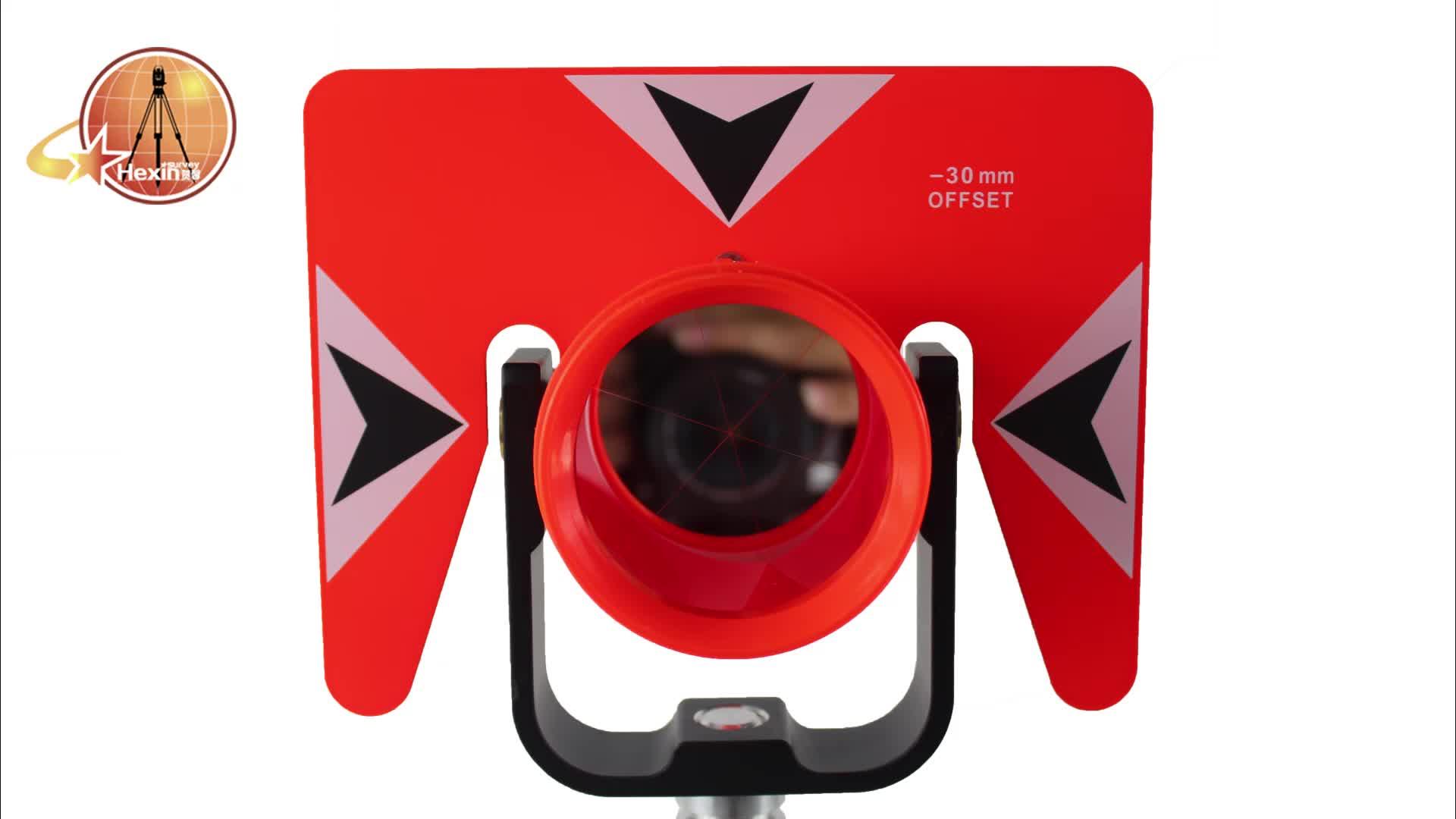 Buona qualità piccolo apparecchiature di rilevamento di plastica prisma ottico Sokkia AK19 65 millimetri Diametro Effettivo prisma ottico