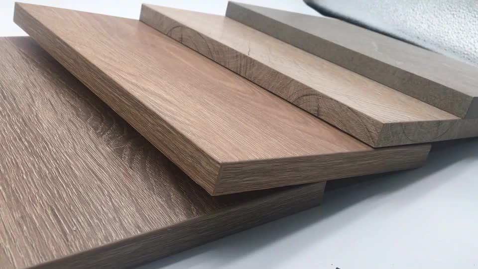 Nature Solid Wood Design Synchronized MDF Board Decorative Wood Panel Made by Germany Machinery Wemhoner
