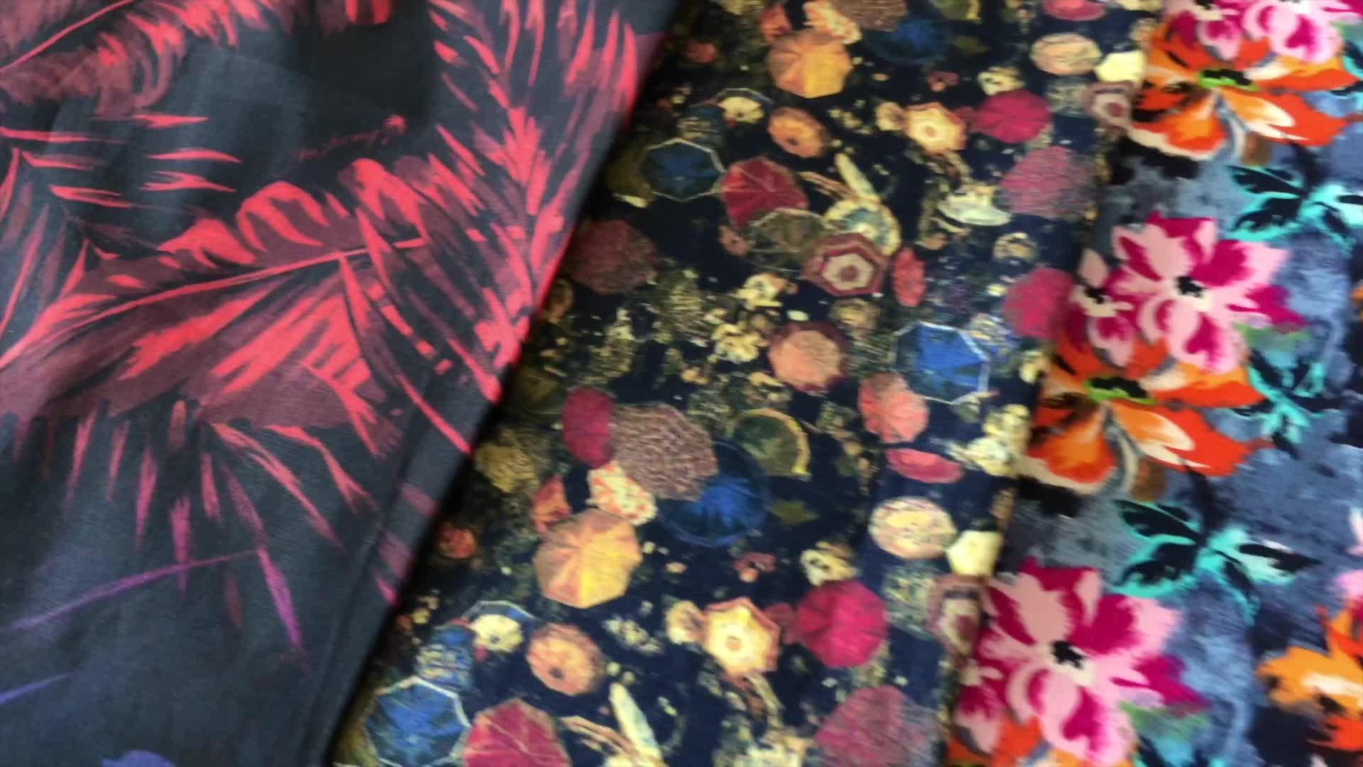Pakaian Tekstil 100% Katun Poplin Kain untuk Gaun
