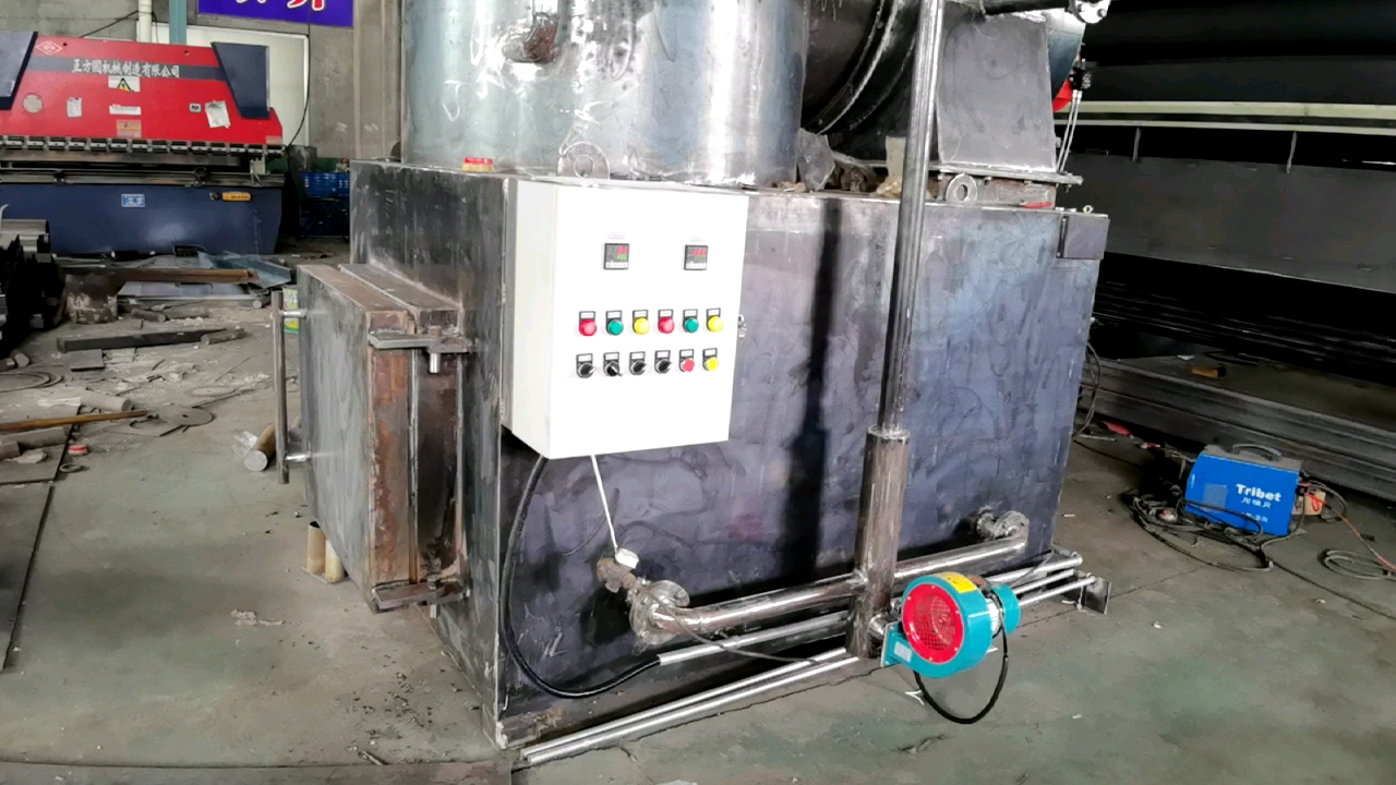 Pet poultry waste incinerator dead anminal body combustion stove equipment
