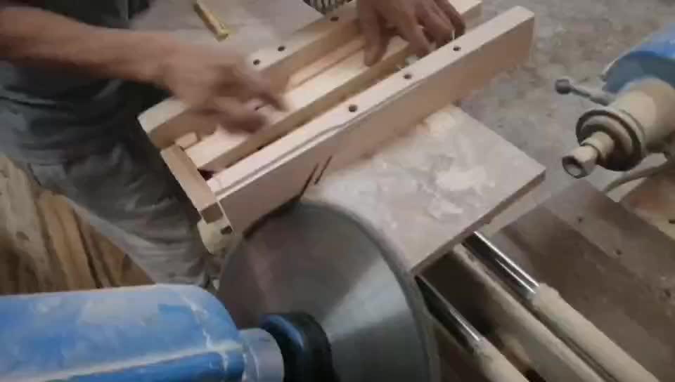 Bloques de madera tallados sin terminar personalizados con alfabeto grabado