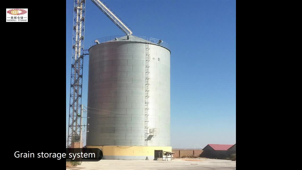 High quality 10000ton large capacity silo for wood pellet raw material storage