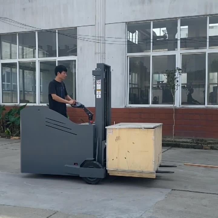 优程1.0吨全电动堆高车1.5吨平衡重电动叉车电瓶叉车大轮装卸铲车