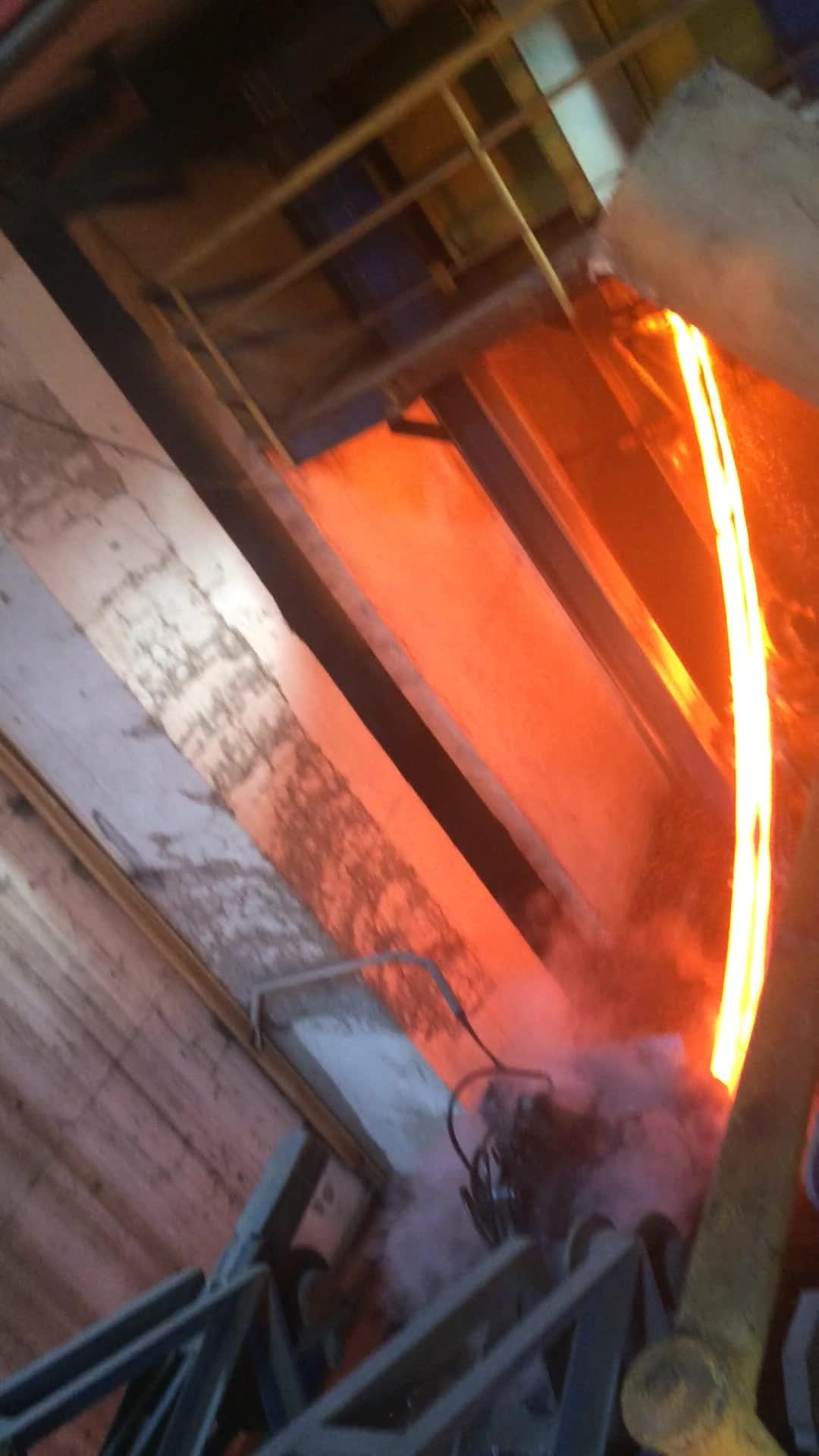Profesyonel satış Sıcak üst alüminyum kütük sürekli döküm makinesi