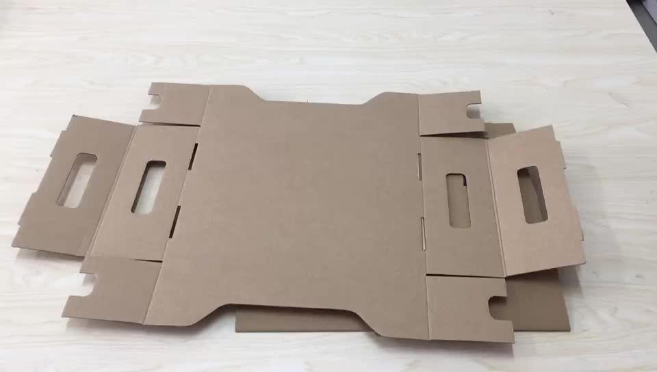 ホット販売パイルアップボックスケータリングのためのカスタムロゴ印刷段ボール紙食品包装表示ボックス