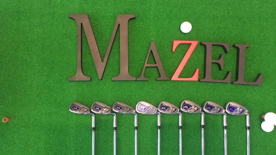 Moda titânio conjunto clube por atacado ajustável de ferro de golfe