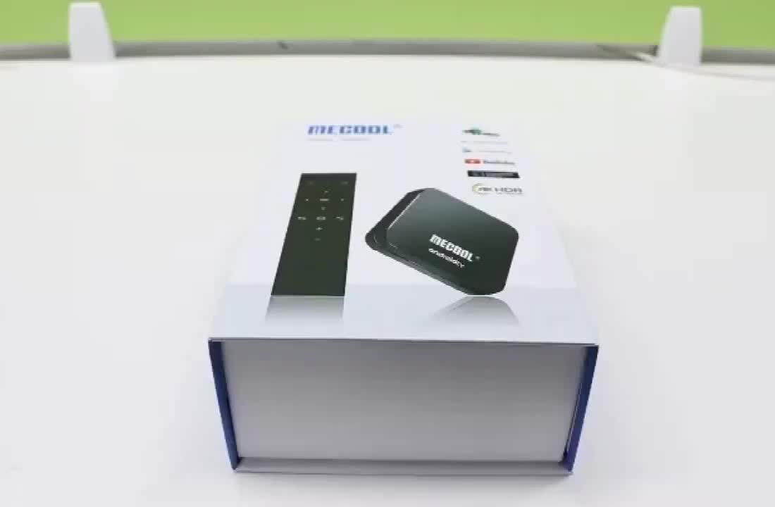Popular MECOOL KM9 PRO 2GB 16GB Android 9.0 TV Box Amlogic S905X2 4K KM9 ATV 2.4G 5G Dual Wifi BT4.0