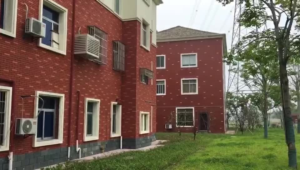 Tall Buildings Clay Red Split Brick Outdoor Wall Cladding Tile