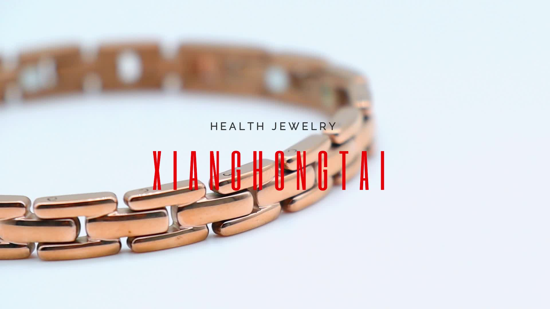 Health Jewelry Clasp Chain Titanium Germanium Bio Magnetic Steel Necklace for Men