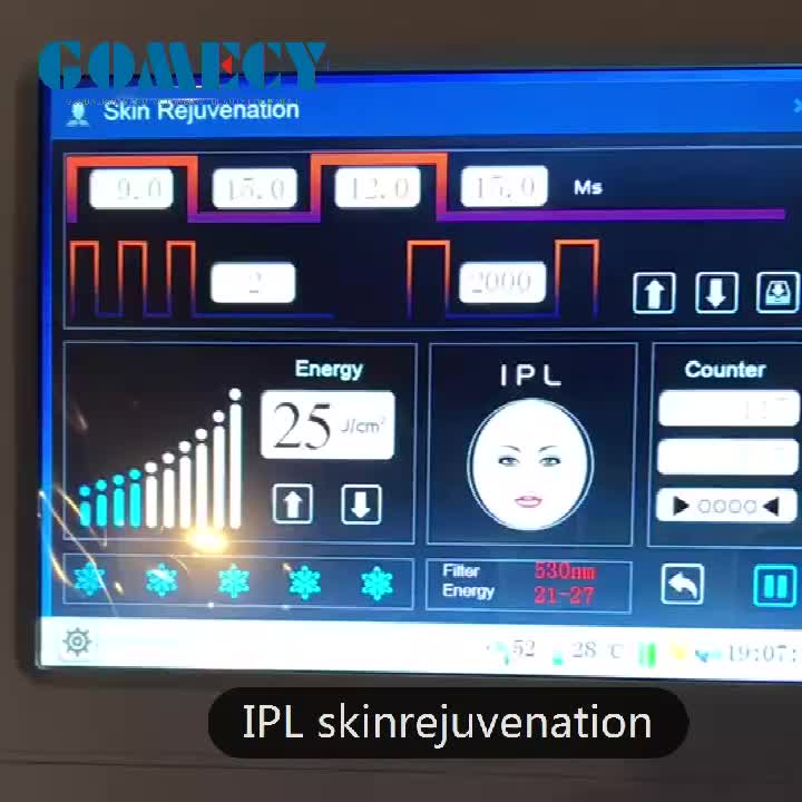 Popular skin beauty machine 7 filters to ship shr ipl opt acne treatment vascular removal for face and skin care beauty spa