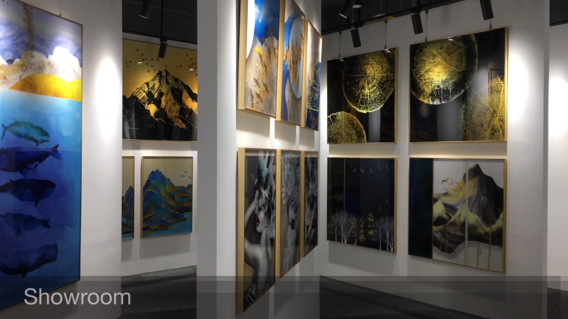 Custom Digital Print Wall Art UV Printing on Acrylic Glass