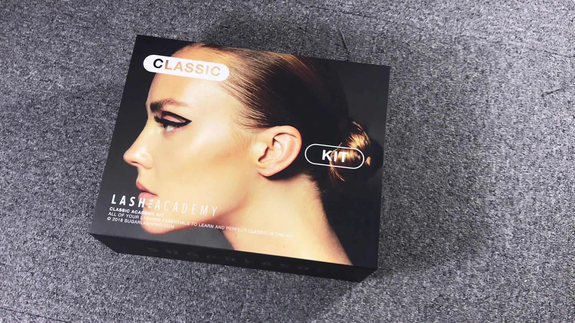 wholesale custom makeup kit box with custom design
