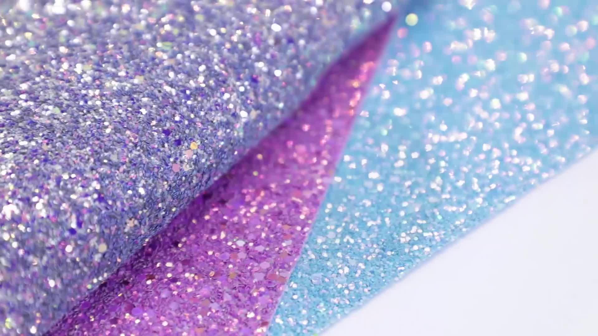 HSDLeather colorido brillante brillo grueso tela de cuero