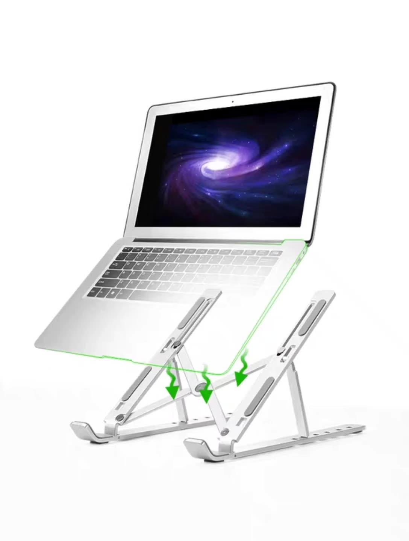 TMJ-844 360 Grad Einstellbar Hause Büro Metall Stehen Faltbare Metall Tisch PC Stehen Aluminium Laptop Halter Stehen