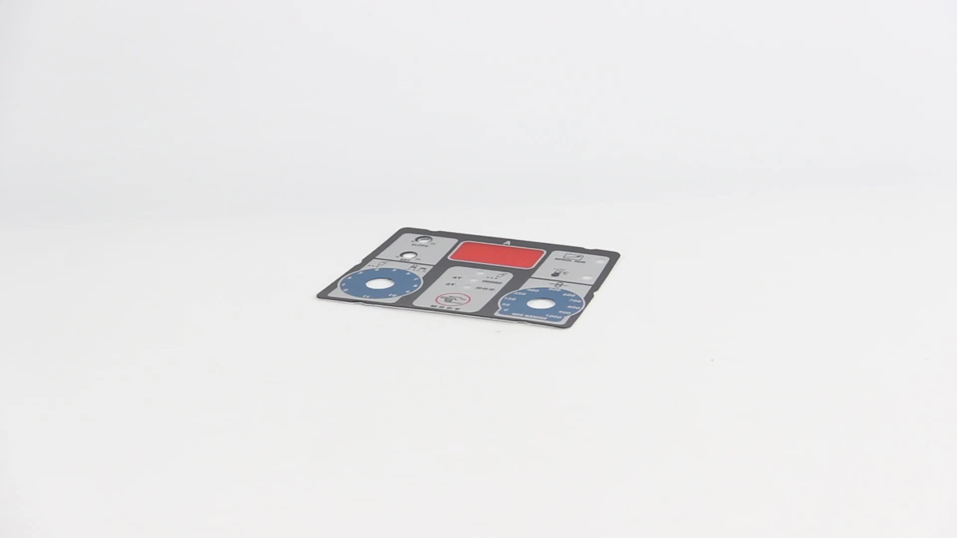 Membrane Panel Welding Machine Stock Polydome Membrane Switch