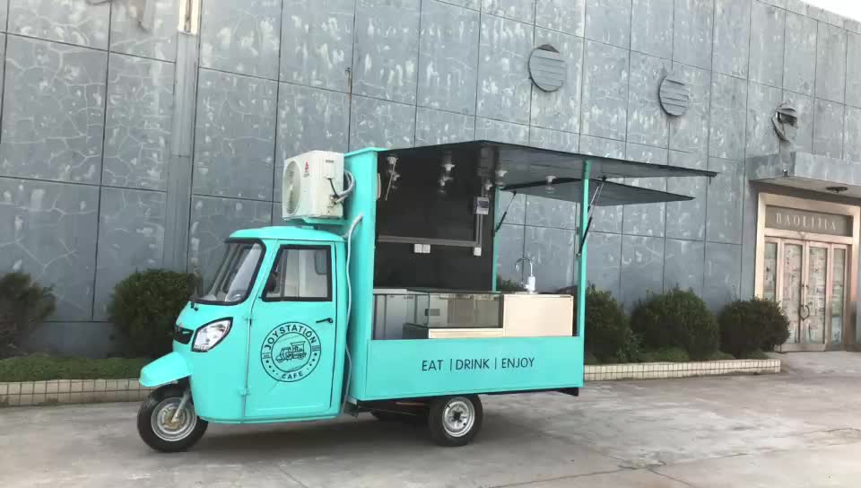 The latest technology electric mobile food carts for sale