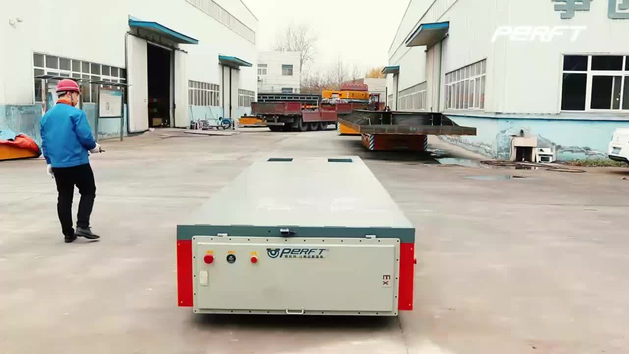 Battery Operated Steerable Motorized 5 ton Material Industrial Mold agv Die Trackless Electric Transfer Cart Factory