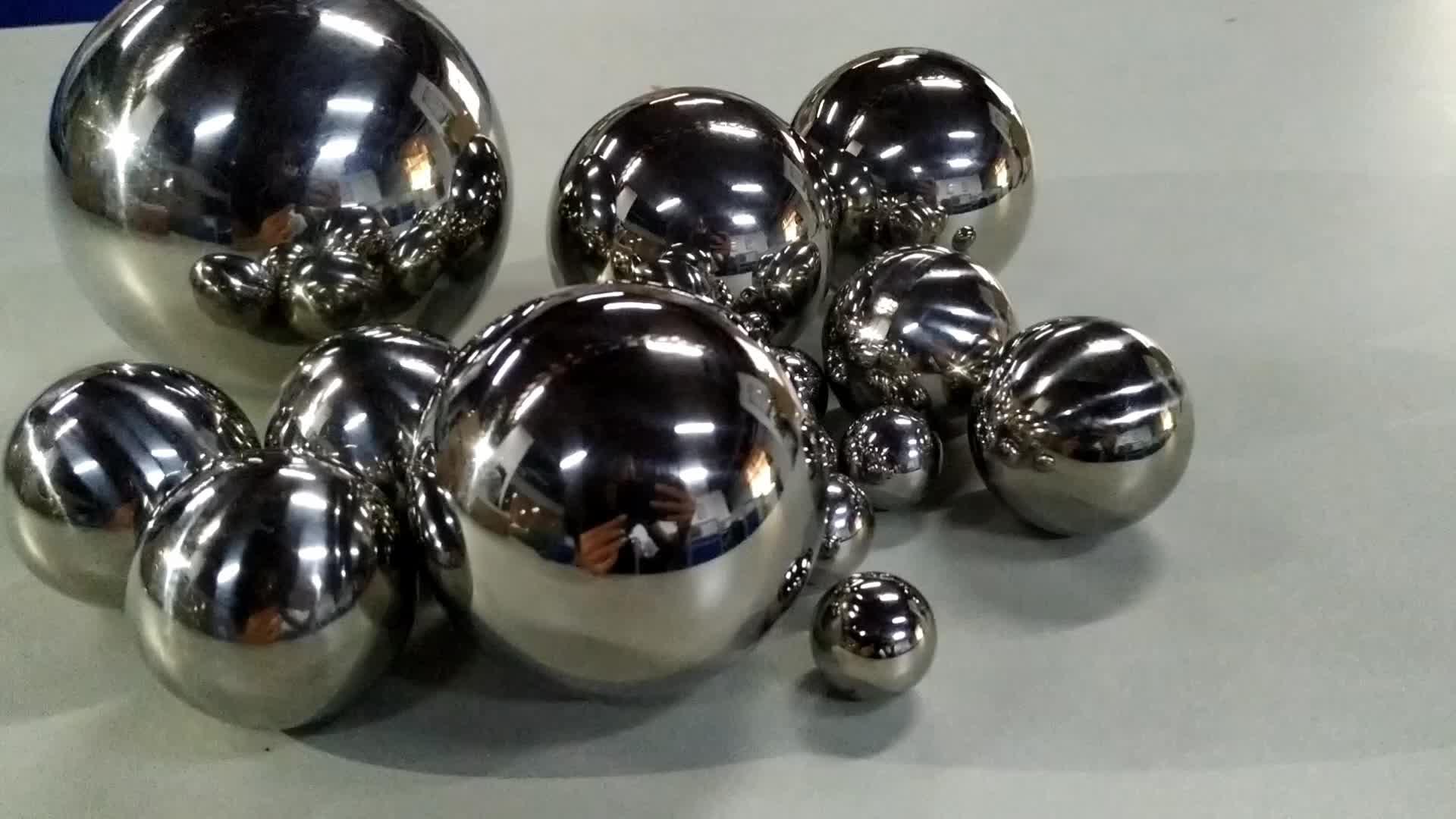 4.5 millimetri sfere in acciaio inox per nail polish