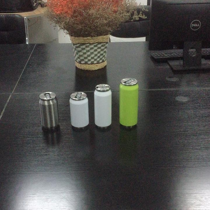 16 oz de botella de agua 500 ml termo vacío frascos de acero