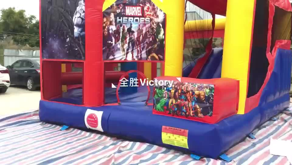 Custom PVC inflatable bouncer jumping castle//bouncers party inflatable/jumpy castle inflatable fun city for kids