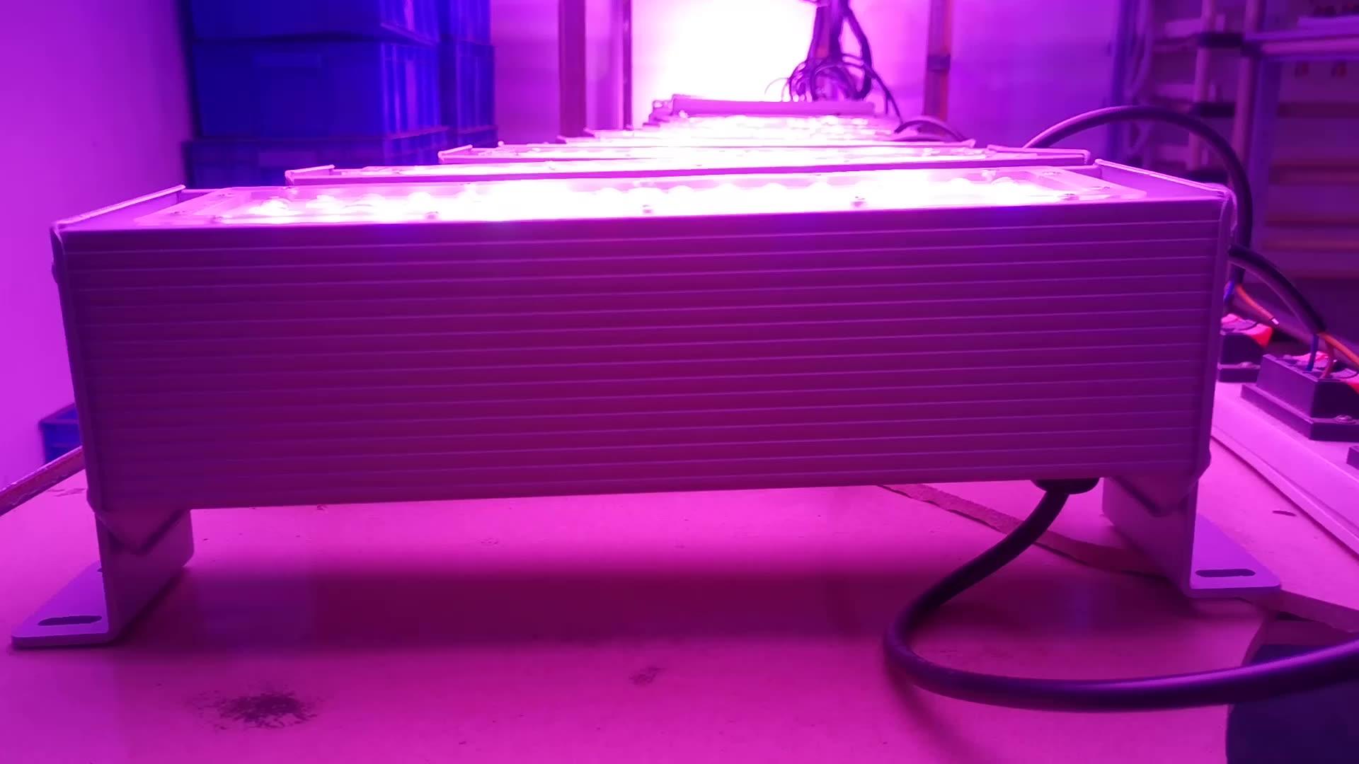 liweida aluminum 50 watt 3030 smd custom red blue waterproof saa ce fcc linear grow light full spectrum