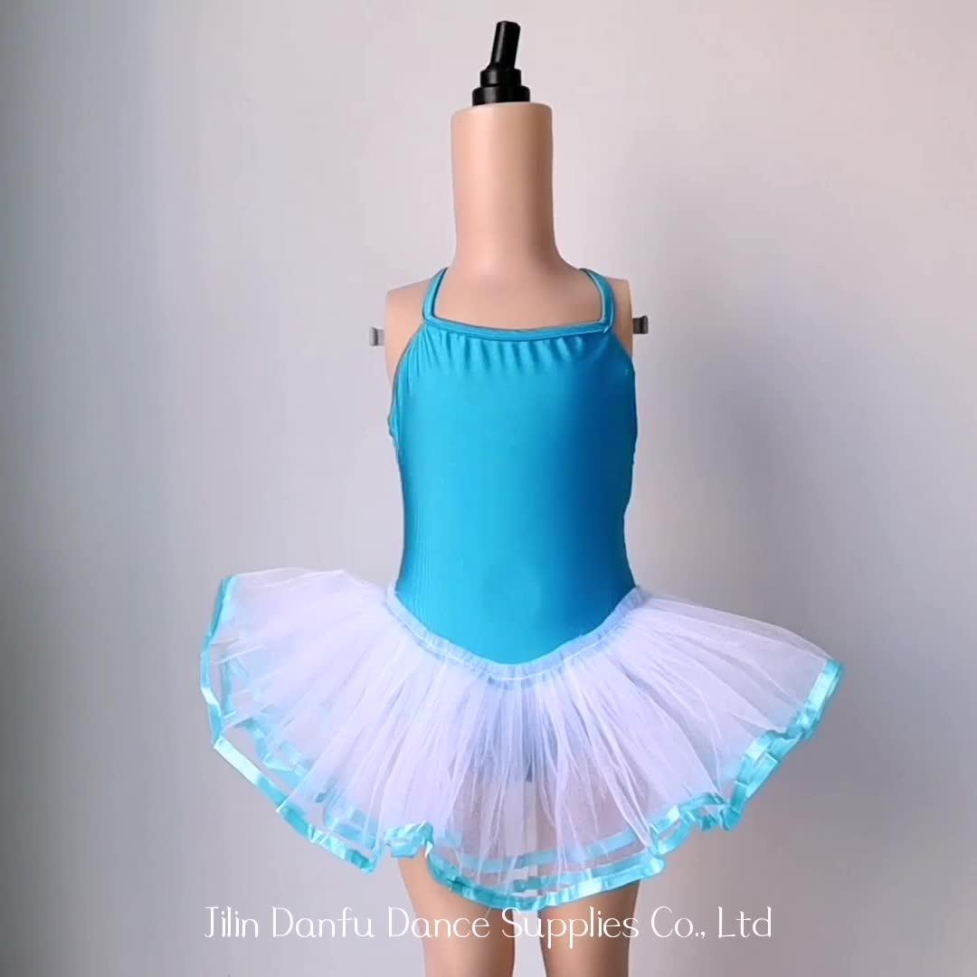 C2214 Hot sale kids dresses tutu for girl hot girl dance wear
