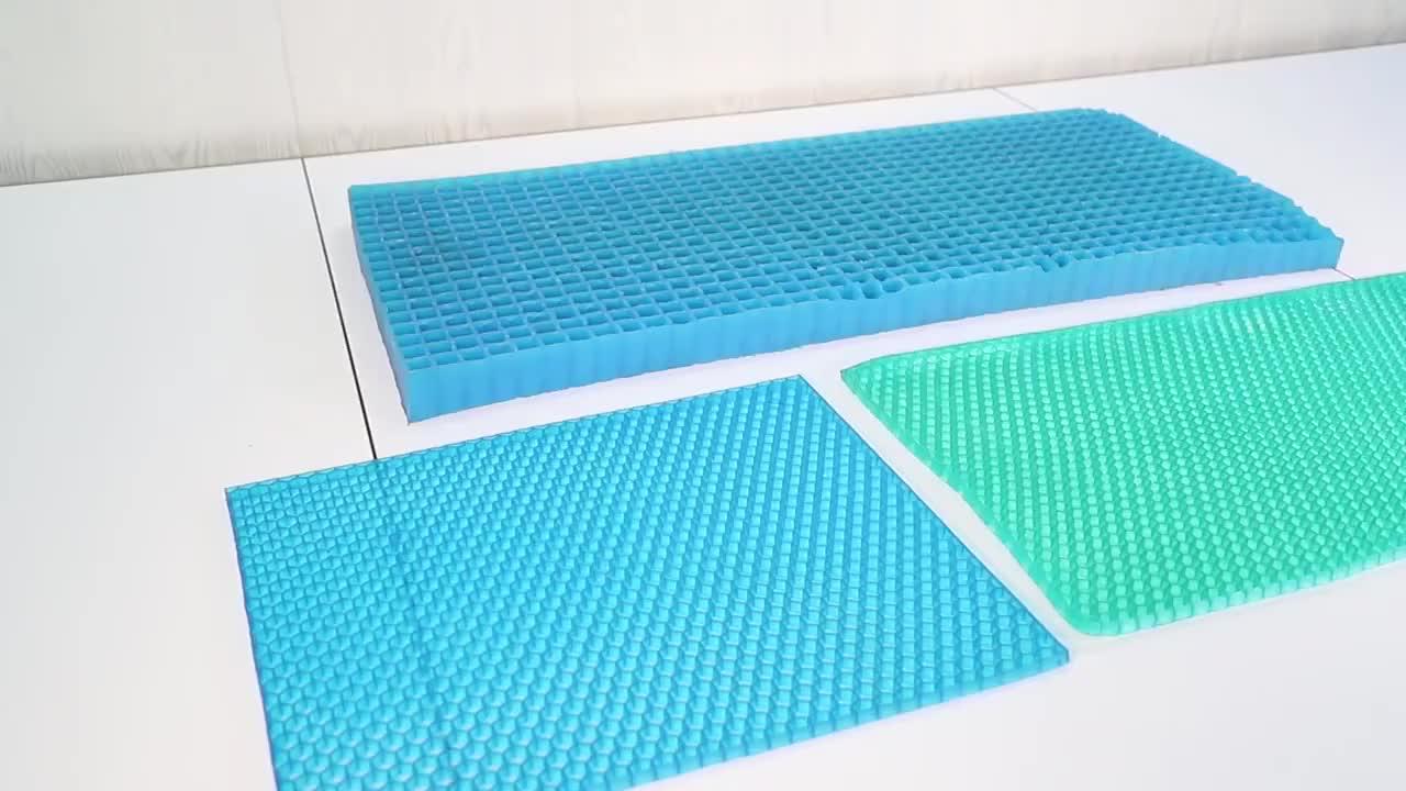 TPE ゲルハニカム特別なデザインプルーフ通気性エアベビーマットレスベビーベッド