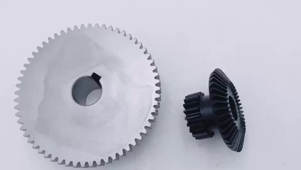 Straight Bevel Gear M3 With Usual Axles Type A Ratio 1:4 - Buy Bevel Gear  M3,Bevel Gear Ratio 1:4,Straight Bevel Gear Product on Alibaba com