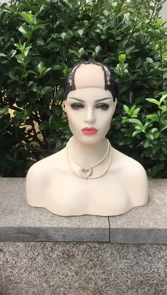 Mesh Rose Hair Net Weaving Stretch Black Dome Lace Wig Cap For Wig Making