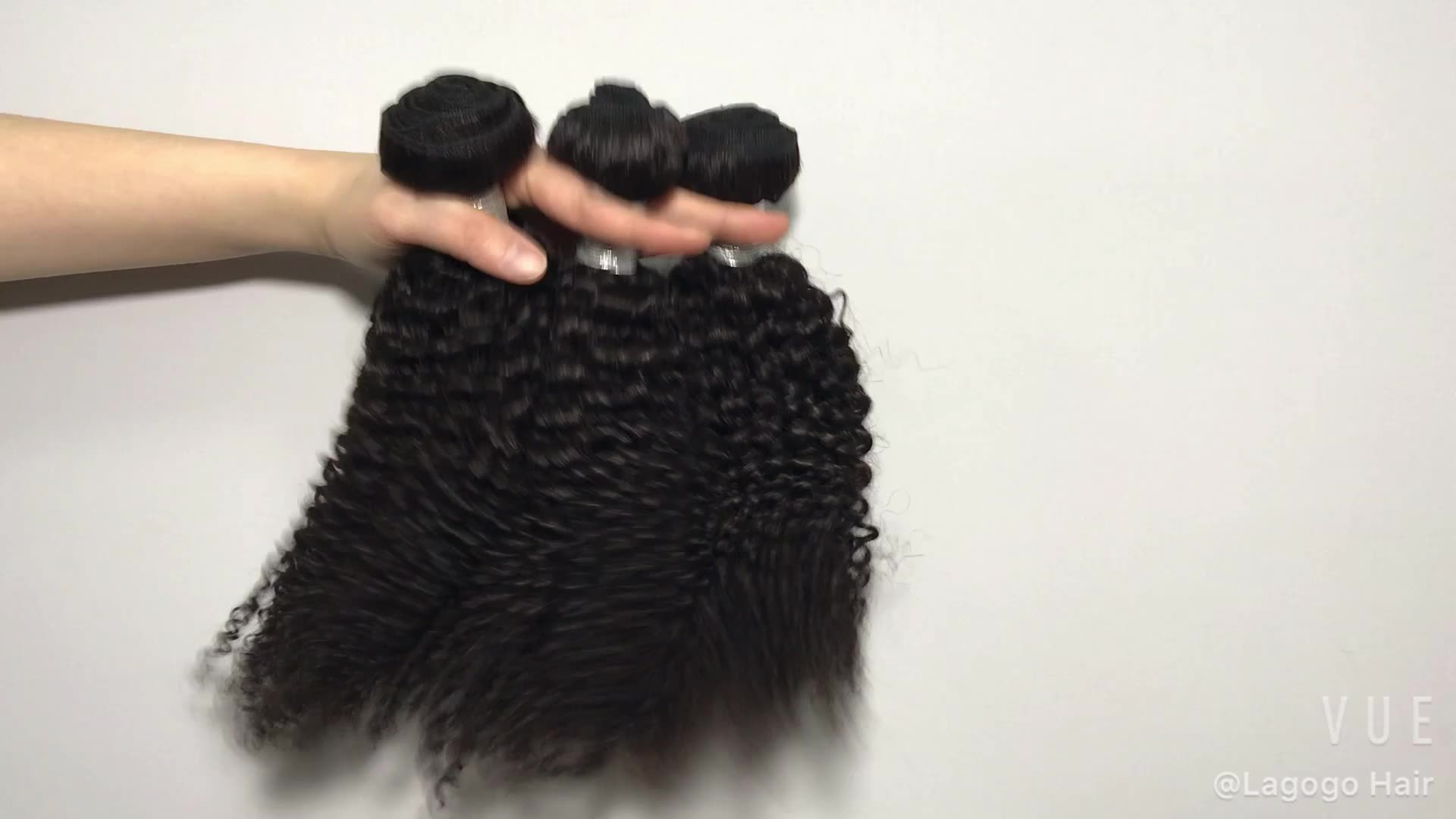 best grade of bundles of cuticle aligned virgin 100% mink hair vendor human jerry curly